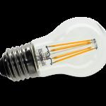 LAMPADA LED E27 TRASPARENTE SFERA