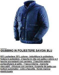 GIUBBINO POLIESTERE SAVOIA
